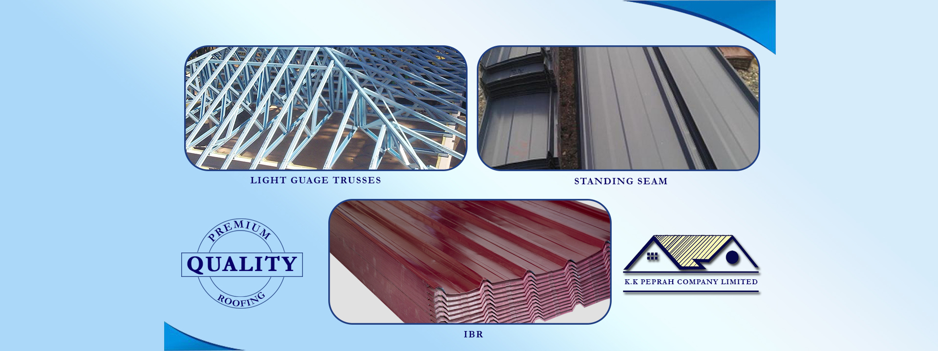 Quality Roofing Sheet Roofing Trusses Building Materials